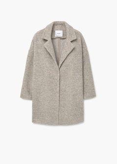 7bb1a716f6696 Manteau laine revers - Femme   Shopping List   Pinterest   Manteau ...