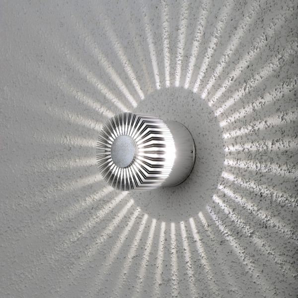 Round LED Decorative Exterior Light With Star Light Distribution