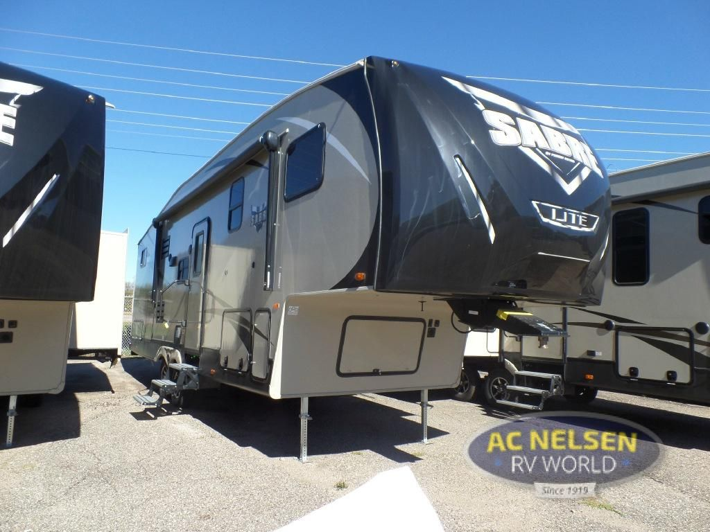 New 2017 forest river rv sabre lite 28bh fifth wheel at ac nelsen rv shakopee