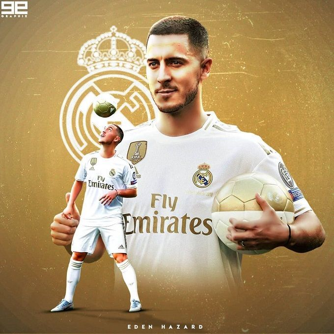 Hazard Eden Hazard Real Madrid Football Hazard Real Madrid