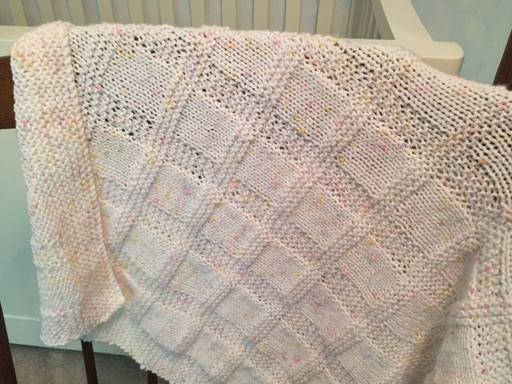 sunny blanket | Knitted blankets, Knitted baby blankets ...