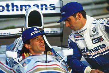damon hill 1994 | Senna - Depoimentos De Alguns Dos Maiores Personagens de Sua Carreira