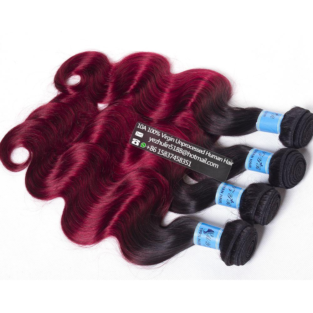 Ombre Brazilian Haircheap Human Hair Weave Hair Weave Websites