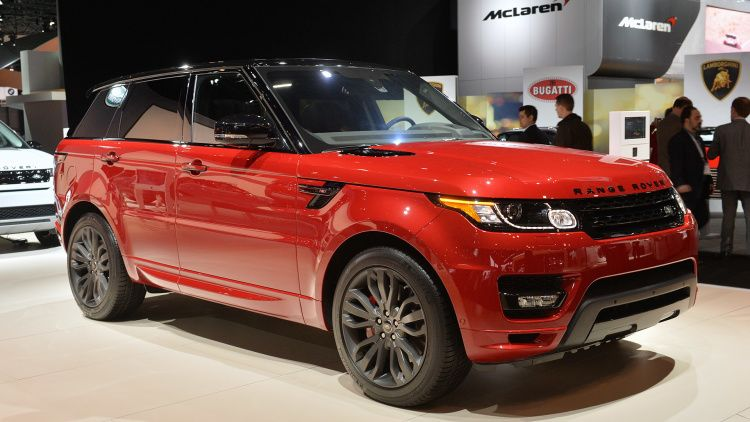Land Rover Range Rover Sport HST addresses the