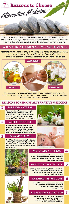 7 Reasons to Choose Alternative Medicine 7 Reasons to Choose Alternative Medicine