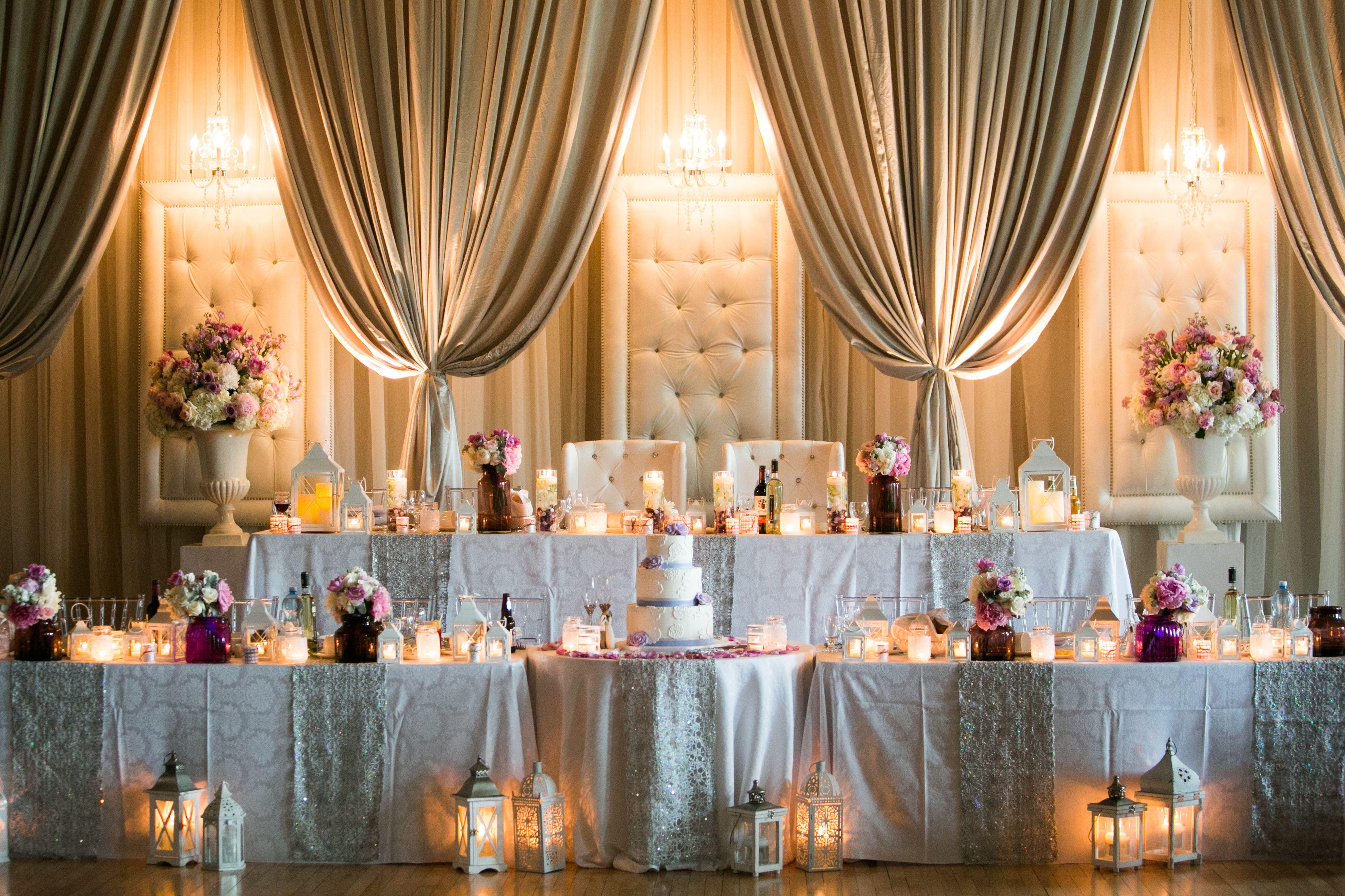 Wedding Head Table And Decor Jeremy Clay Photography Mynewlywednest