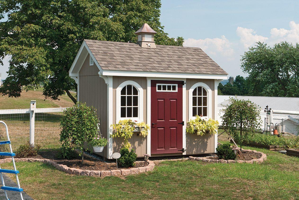 garden sheds  Classic Garden Shed  South Jersey Sheds