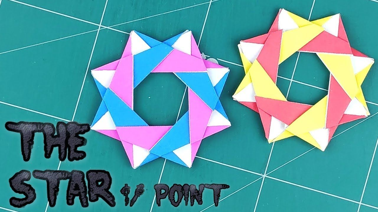 Christmas Crafts - EASY Origami Star - 3D Paper Origami Star ... | 720x1280