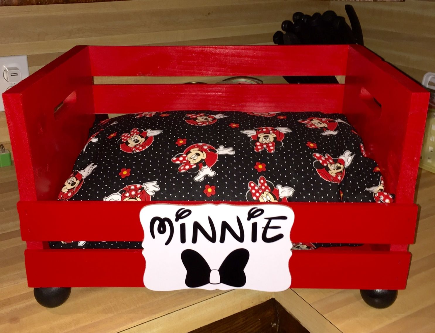 Minnie Mouse Dog Bed Dog Bed Puppy Beds Minnie