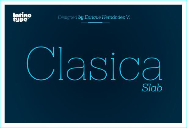 25 Popular and Attractive Slab Serif Fonts