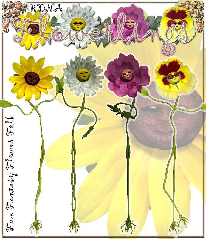 RDNA Flowerlings