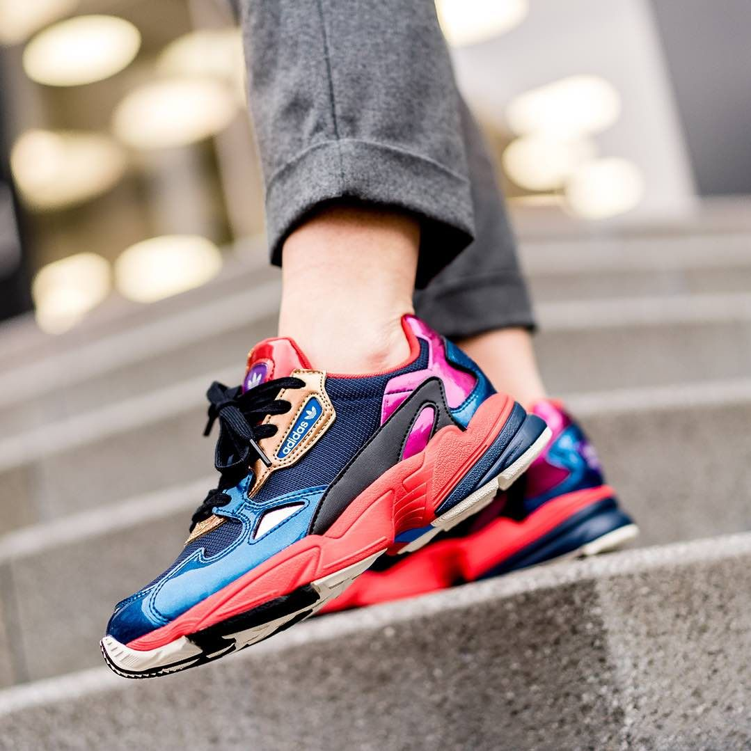 insidesneakers • Adidas Falcon Red