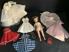 MADAME ALEXANDER CISSETTE BRIDE DOLL Clothes purse pearls #bridedolls
