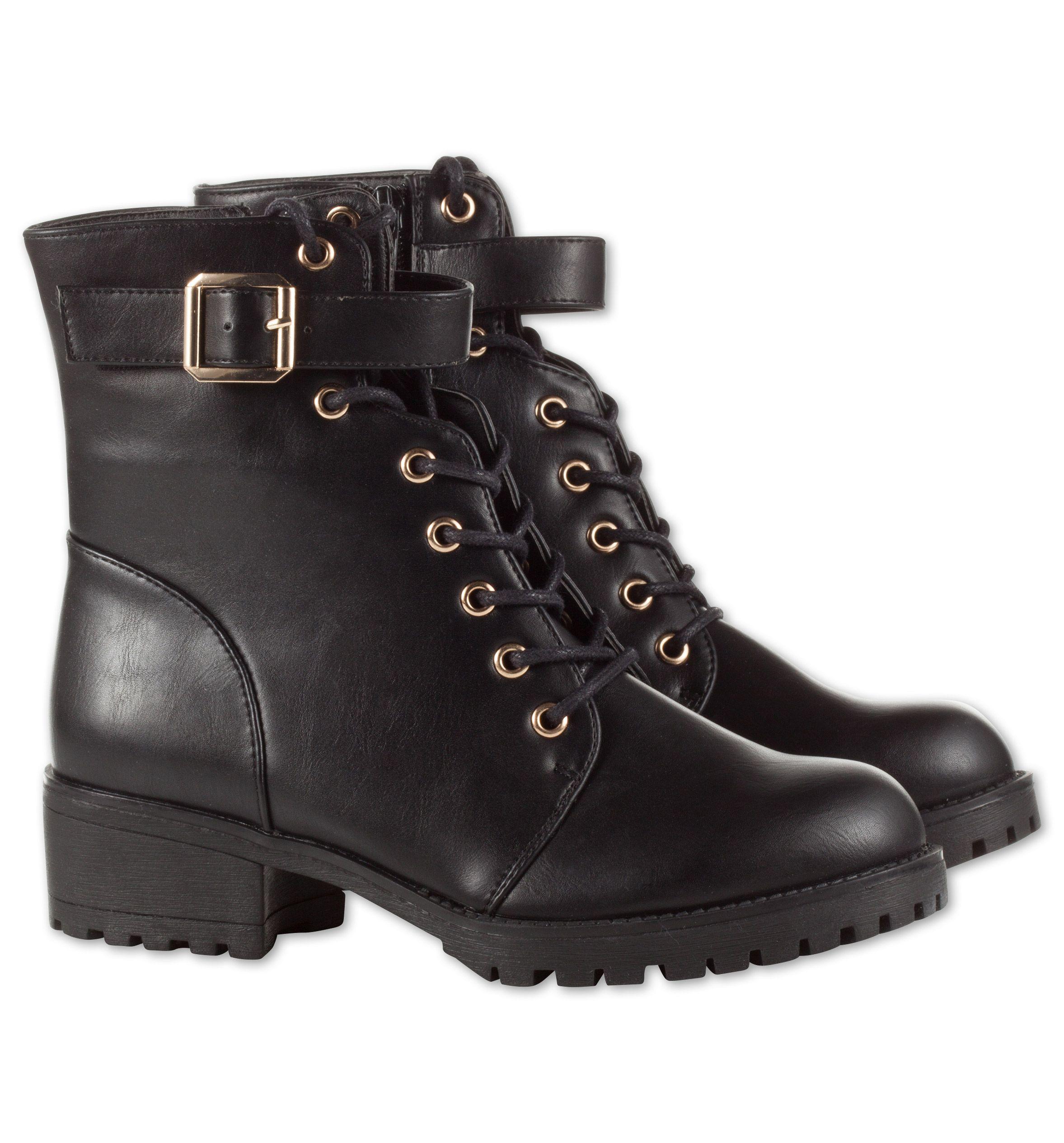 sports shoes b86c6 b1324 Damen Stiefeletten in schwarz - Mode günstig online kaufen ...