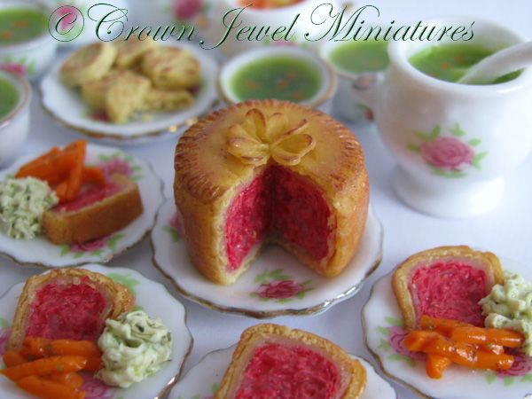 Corned beef dinner by Crown Jewel Miniatures