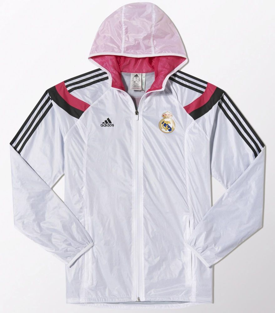 Details about 20142015 REAL MADRID ANTHEM TRACK JACKET ADIDAS brand new ! AUTHENTIC M00051