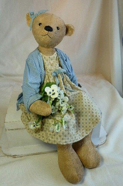 Teddybär Lotte von M.Lehr   Teddybären   Pinterest   Bären ...