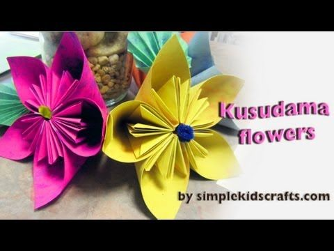 How to make an origami japanese kusudama flower youtube clever how to make an origami japanese kusudama flower youtube mightylinksfo Gallery