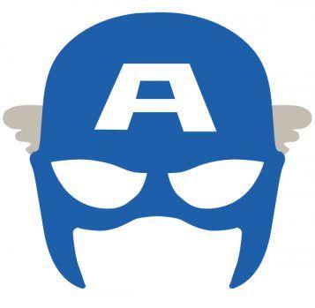 Capitan America Super Heroe Fiestas Infantiles Mascaras De Superheroes Mascaras De Super Heroe Antifaz Superheroes