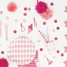 My Little Day Confettis roses et dorés en papier de soie-listing