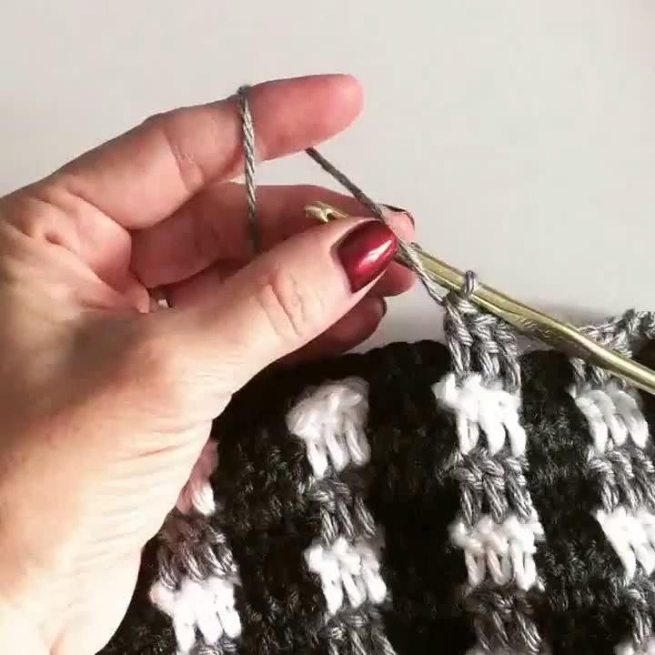 Crochet Buffalo Plaid - Crochet and Knitting Patterns #afghanpatterns