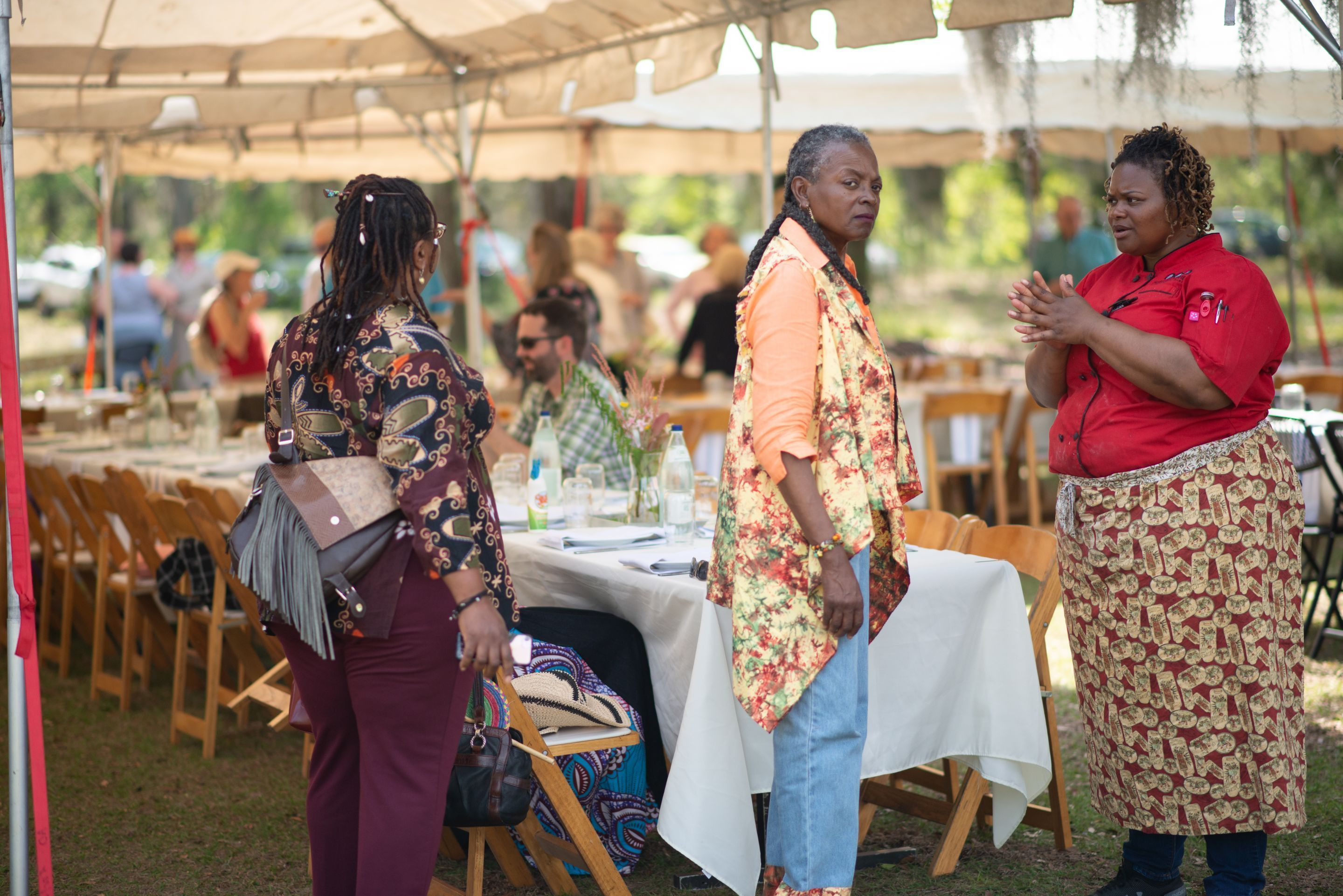 Coastal black owned family farm hosts dinner with