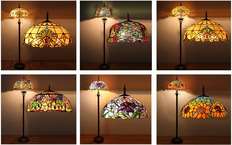 Most Popular New Products Tiffany Stained Butterfly Style Lamp