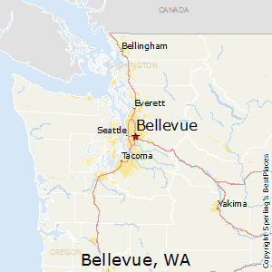 Bellevue,Washington Map | PNW life | Pinterest | Washington