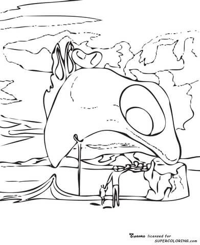 Atavistic Vestiges After The Rain By Salvador Dali Coloring Page Free Printable Coloring Pages Salvador Dali Dali Salvador Dali Art
