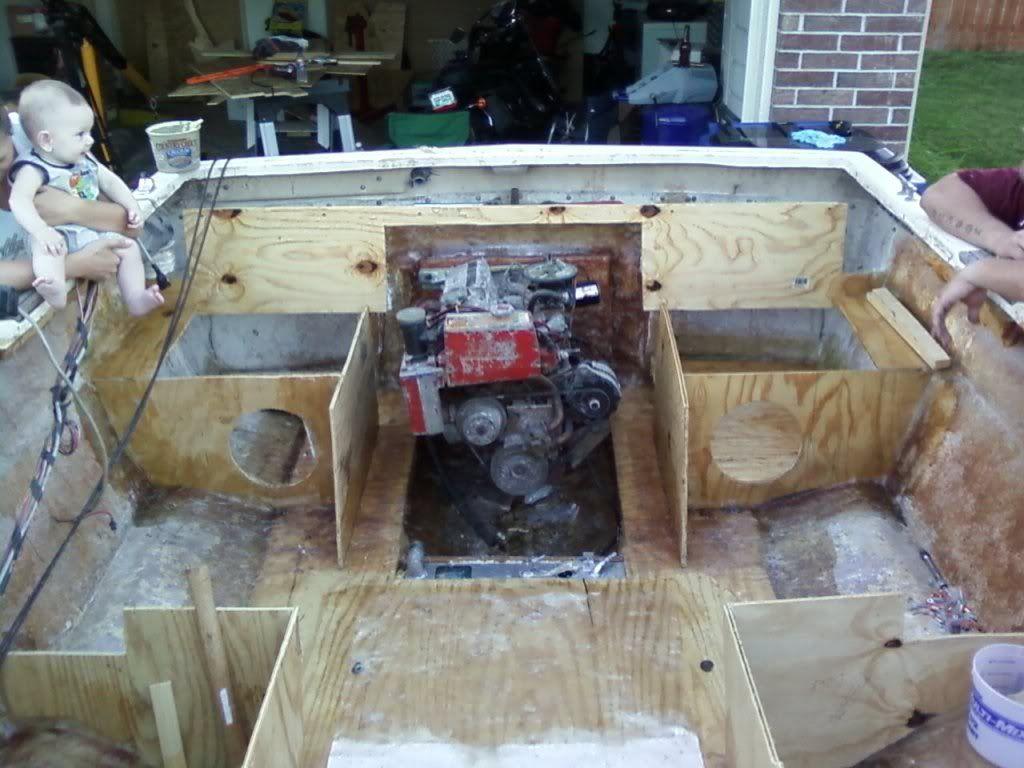 1984 Bayliner Capri Rebuild Page 2 Iboats Boating Forums 316799 Boat Restoration Wooden Boat Building Boat Design