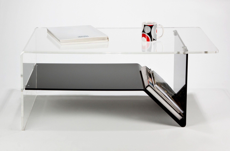 Black And Clear Acrylic Coffee Table Acrylic Coffee Table Coffee Table Lucite Furniture [ 1536 x 2340 Pixel ]