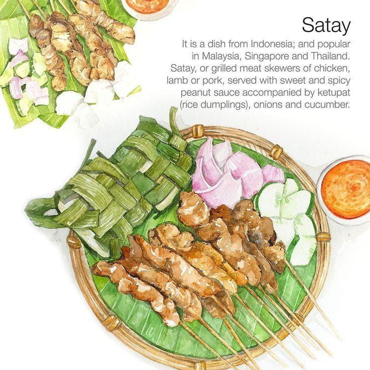 Pin Oleh Dea Widya Di My Anime Foods Oishii Ilustrasi Makanan Menggambar Makanan Seni Makanan