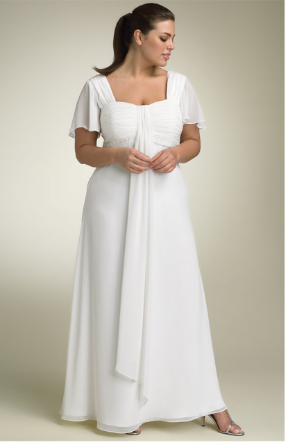 simple white dress | Plus Size Simple White Dresses For Women ...