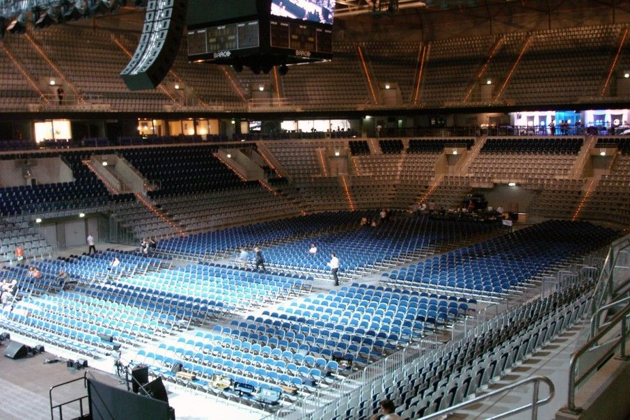 Our Audience Seating Range At The Sap Arena In Mannheim