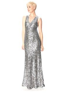 c5a8c064f8 French Connection all-over sequin maxi dress is a once-in-a-lifetime piece.  Wear with minimal jewellery