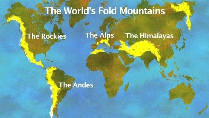 mountain map of the world - Google Search | Map, World ...