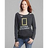 CHASER Sweatshirt - Nat Geo Fleece Deconstructed  I have fallen in love with this sweatshirt!!!! O_o