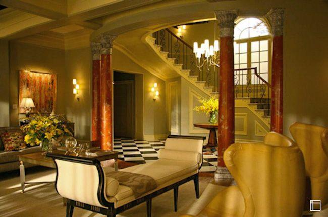 Empfangshalle Art Deco Stil Innenarchitektur   Indoor Architecture.de  Interior Design Preisträger Gestalten International