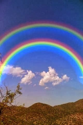 Double Rainbows They Are So Cool Rainbow Sky Rainbow Nature