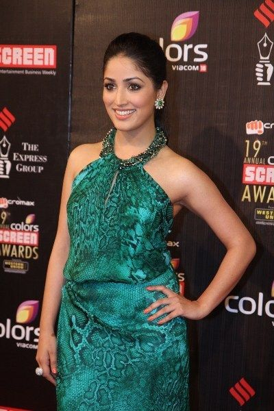 Yami Gautam at 19th Annual Screen Awards