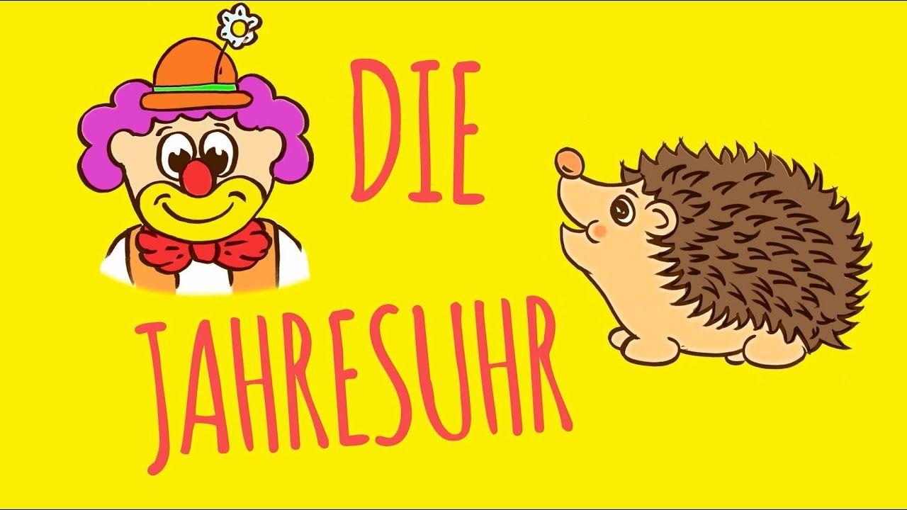 Rolf Zuckowski Die Jahresuhr (Lyric Video) Kids songs
