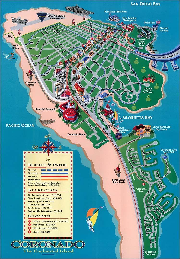 Coronado island rode my bike from the bay bridge down the