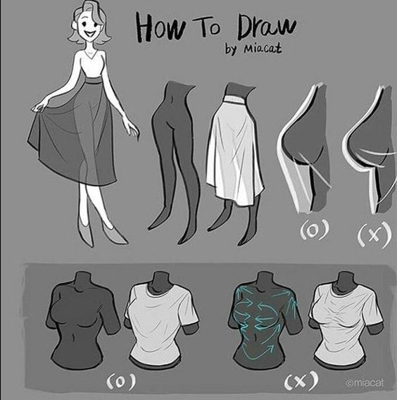 30+ ideas on how to draw a girl | Sky Rye Design