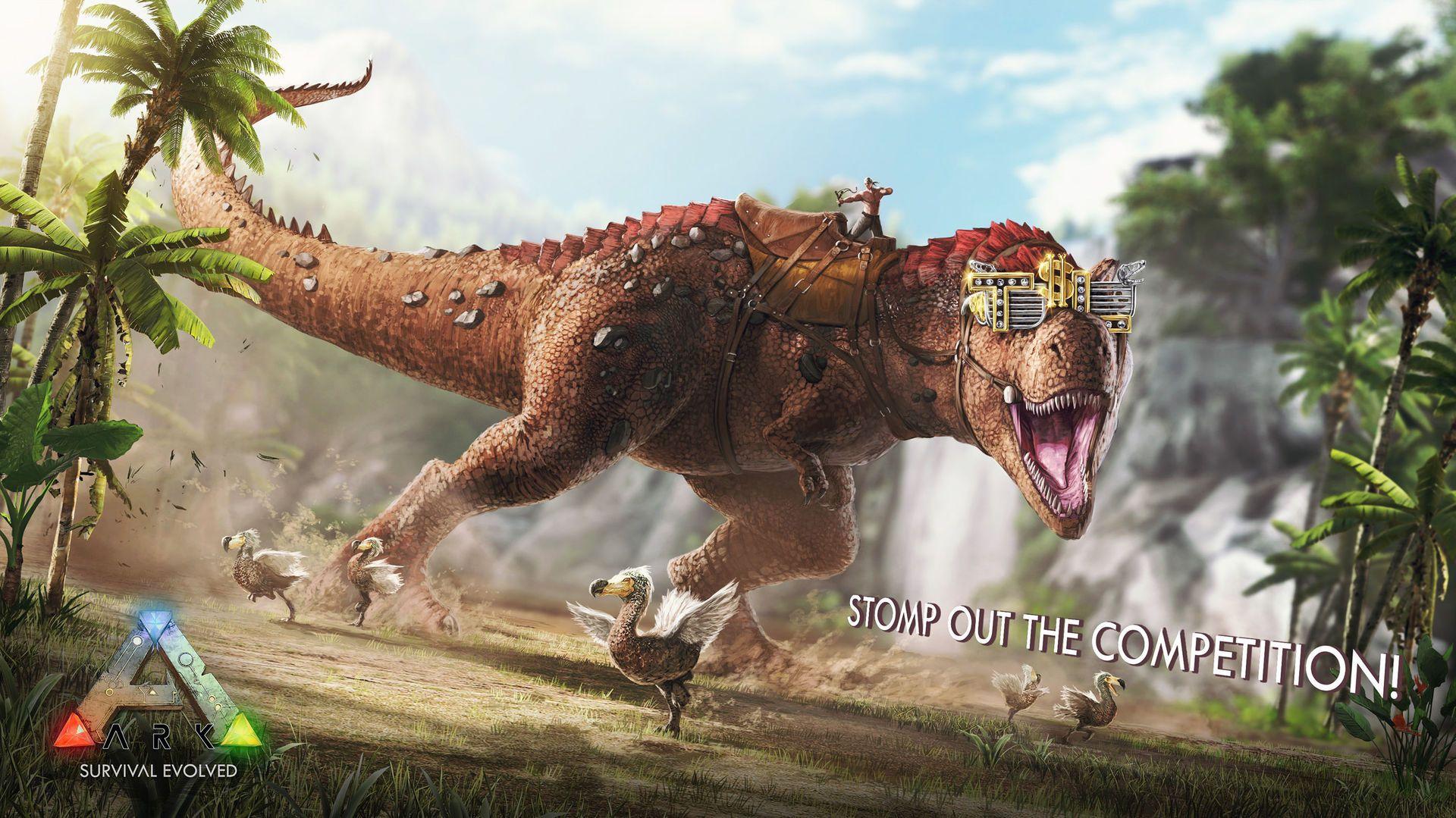 Wallpaper HD ARK SurvivalEvolved - Dinosaurs
