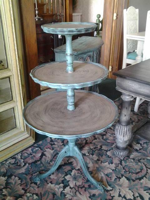 3 Tier Table Tea Room Decor Furniture Makeover Refinishing Furniture