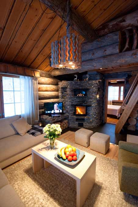 Villa Vuosselinjärvi A - Vuokraamme luksustason huviloita ja huoneistoja Rukalta