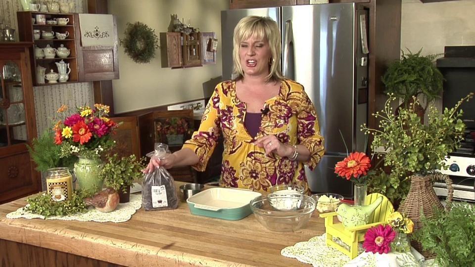 Lee Ann Miller Blueberry Betty Dessert Lee Ann Miller Makes An