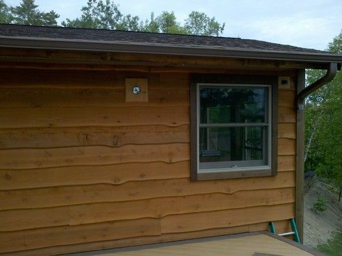 More Wavy Edge Cedar Siding And Rough 2x4 Cedar Trim Siding Ideas Pinterest
