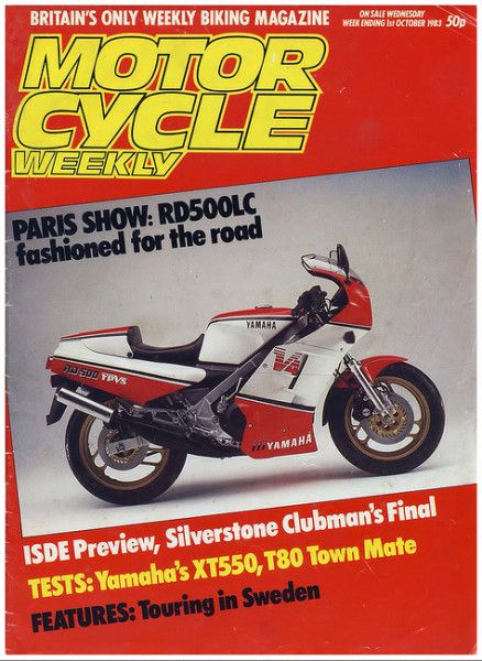 Motorcycle Weekly Magazine Wed 1st October 1983