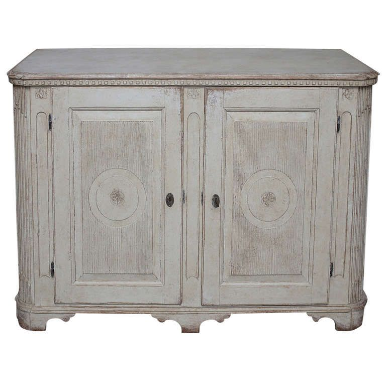 Gustavian Sideboard With Reeded Doors From A Unique Collection Of Antique And Modern Sideboards At Http Www Gustavian Modern Sideboard Sideboards For Sale